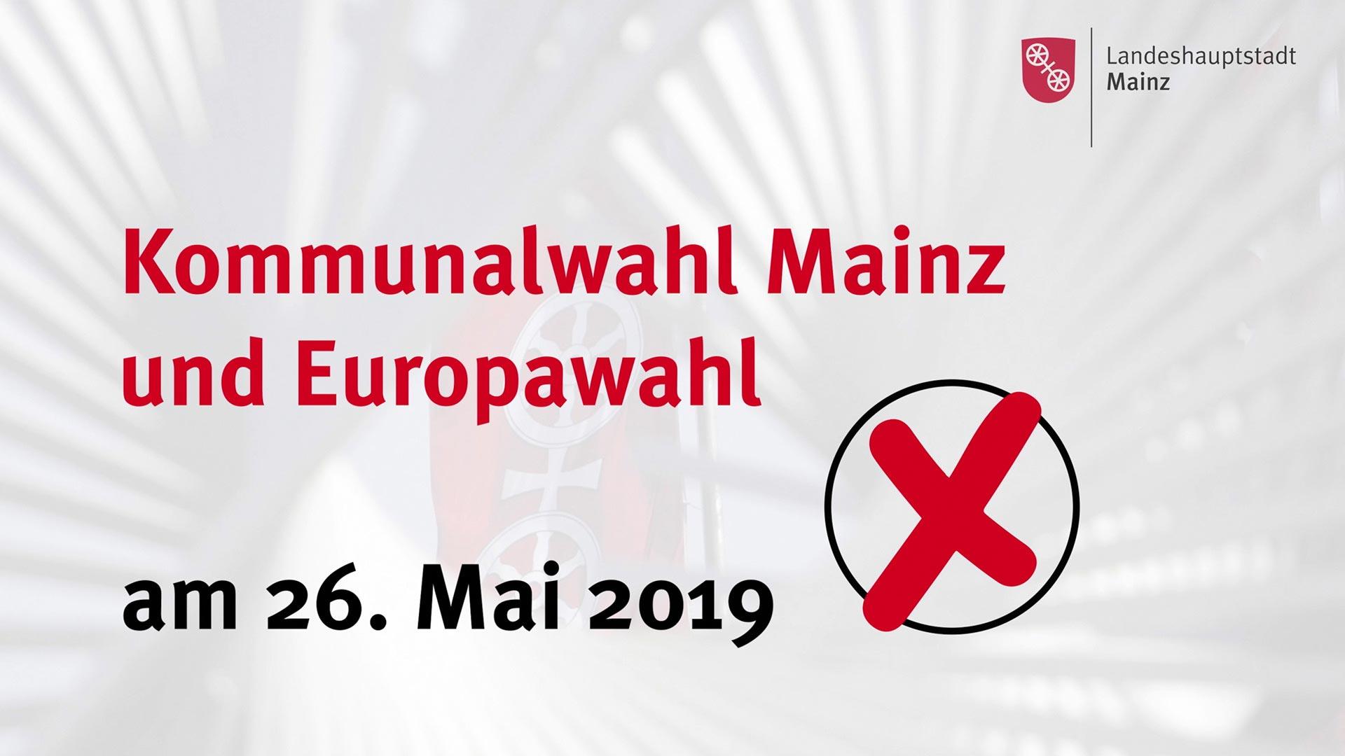 Stadt Mainz - Video zur Kommunalwahl