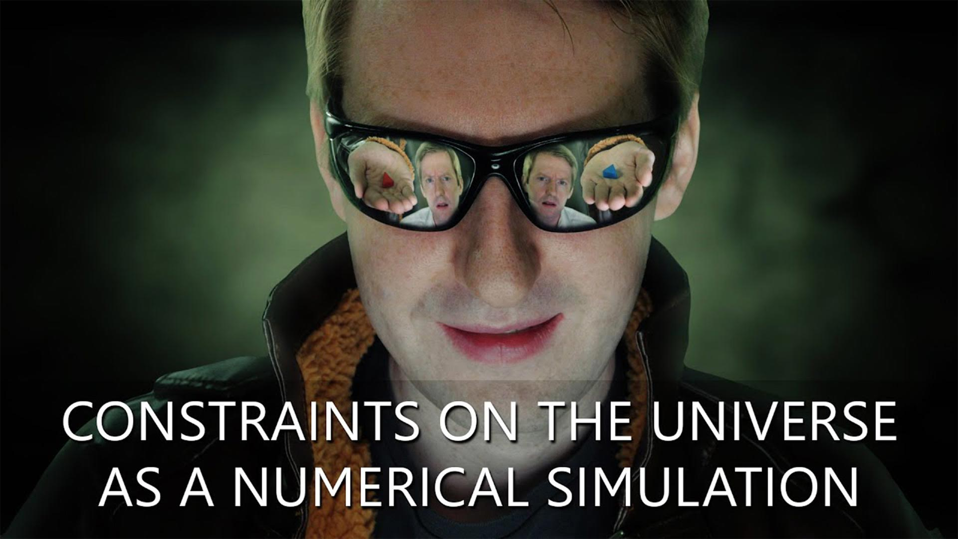Constraints on the Universe as a Numerical Simulation